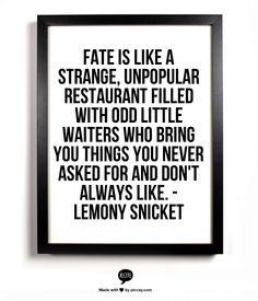 Lemony Fate