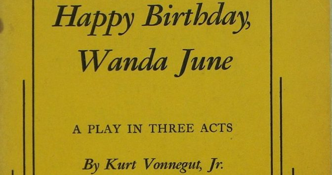 Saturday of Book Reviewing – Vonnegut's Happy Birthday, Wanda June