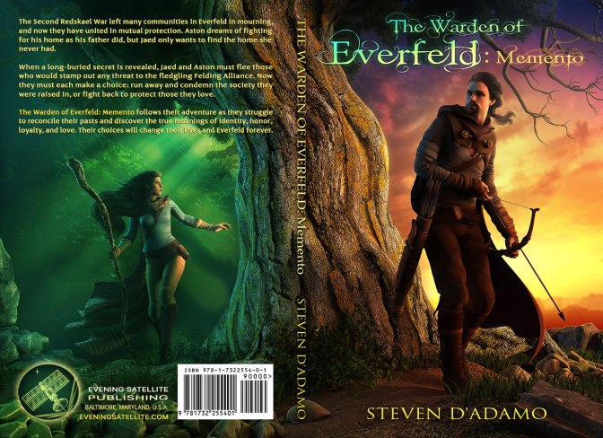 The Warden of Everfeld: Memento is being Published!
