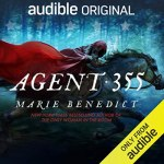 Agent 355 by Marie Benedict, cover illustration, book review, short story