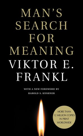 Man's Search for Meaning by Viktor E. Frankl, book cover, book review