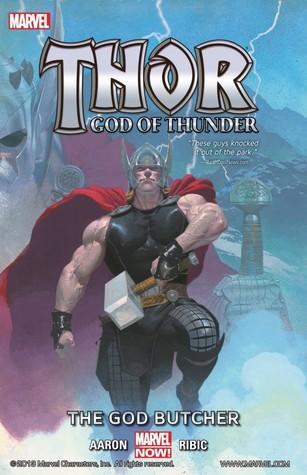 Thor: God of Thunder, Volume 1: The God Butcher, book review, comics